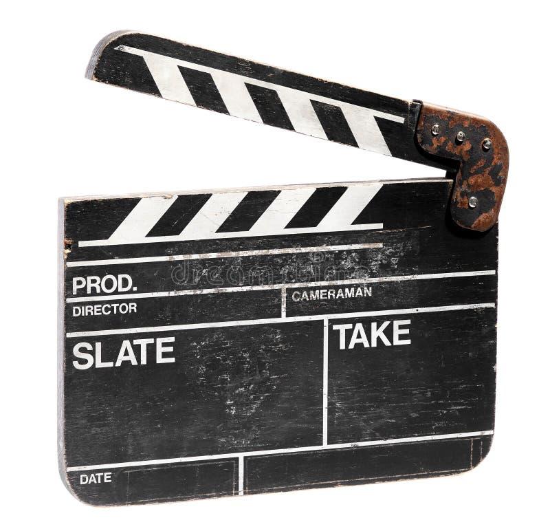 葡萄酒空白电影拍手委员会 免版税图库摄影