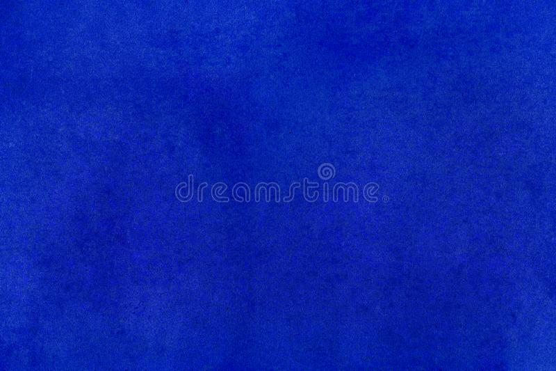 葡萄酒蓝色老纸羊皮纸纹理背景 免版税库存图片