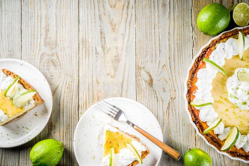 自创礁莱檬饼 图库摄影