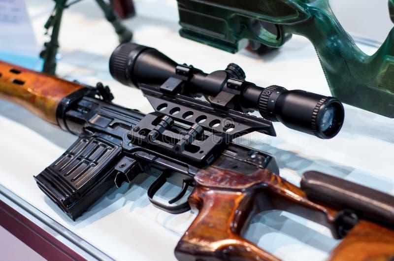 苏联狙击步枪 库存照片