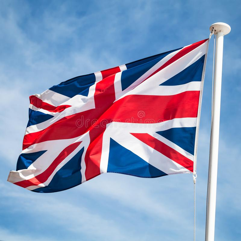 英国或英国国旗旗子 图库摄影