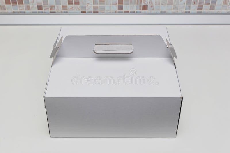 蛋糕盒 库存图片