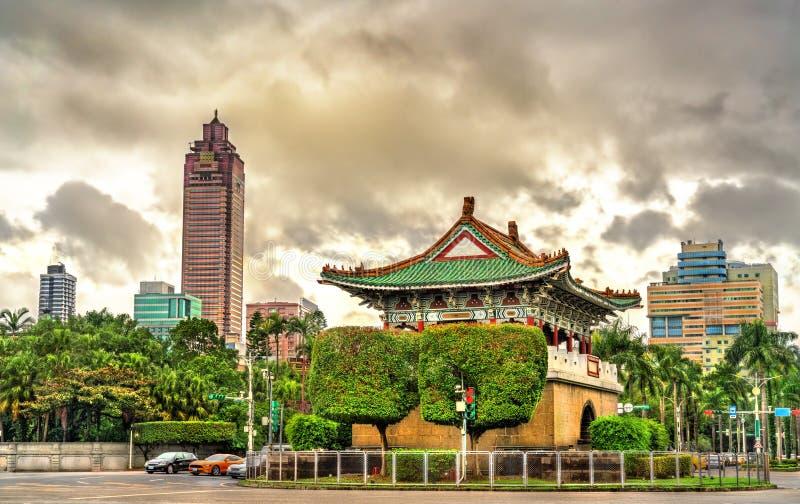 老台北市东大门  免版税库存图片