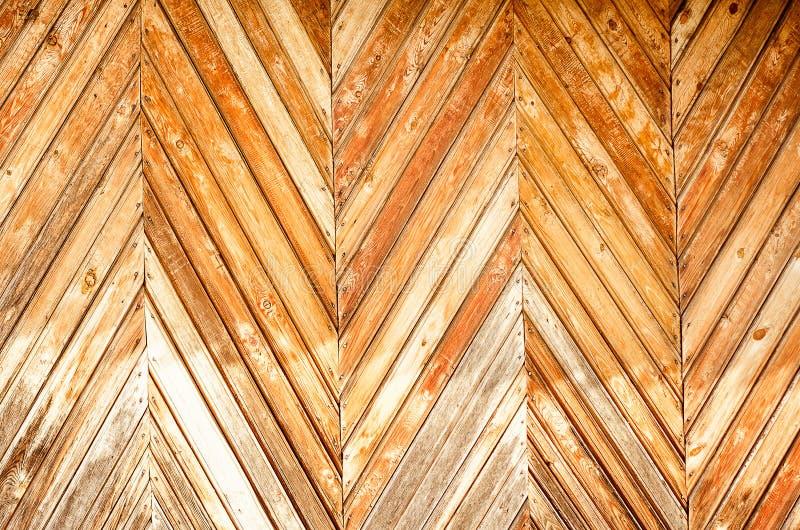 老墙壁由木板条制成 免版税图库摄影