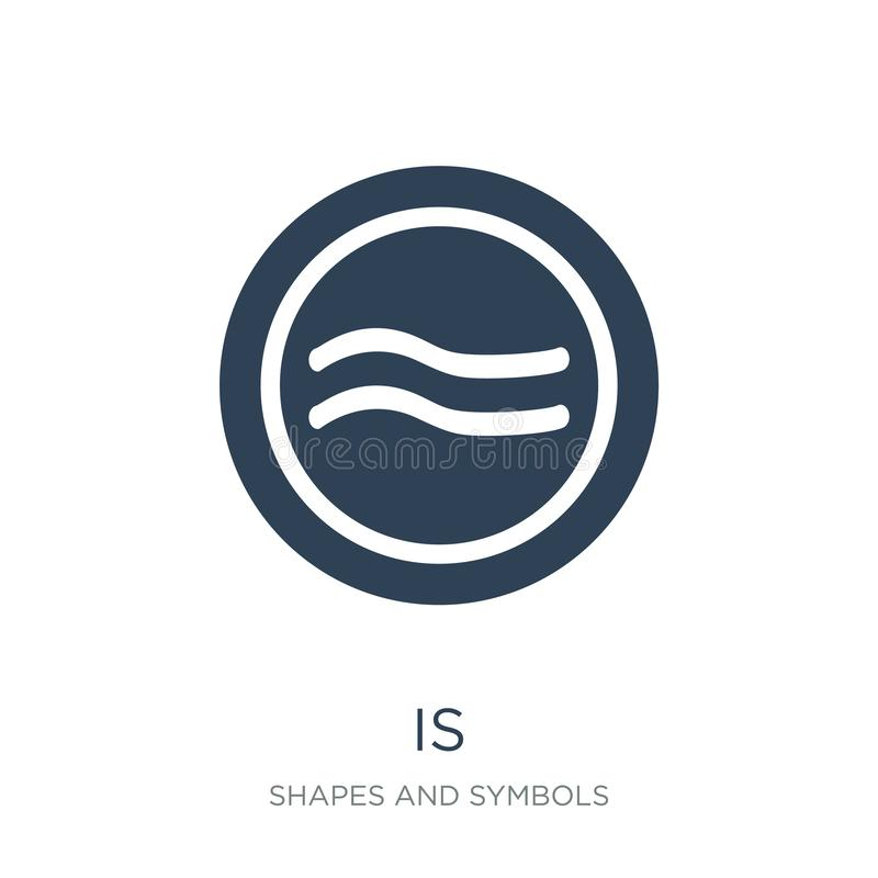 è approssimativamente uguale all'icona nello stile d'avanguardia di progettazione è approssimativamente uguale all'icona isolata  illustrazione vettoriale