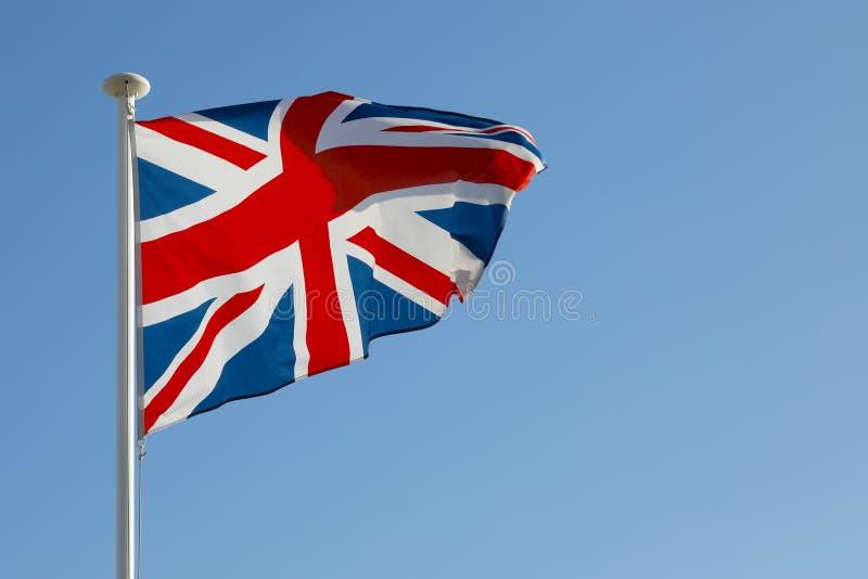 È la bandiera nazionale del Regno Unito immagine stock