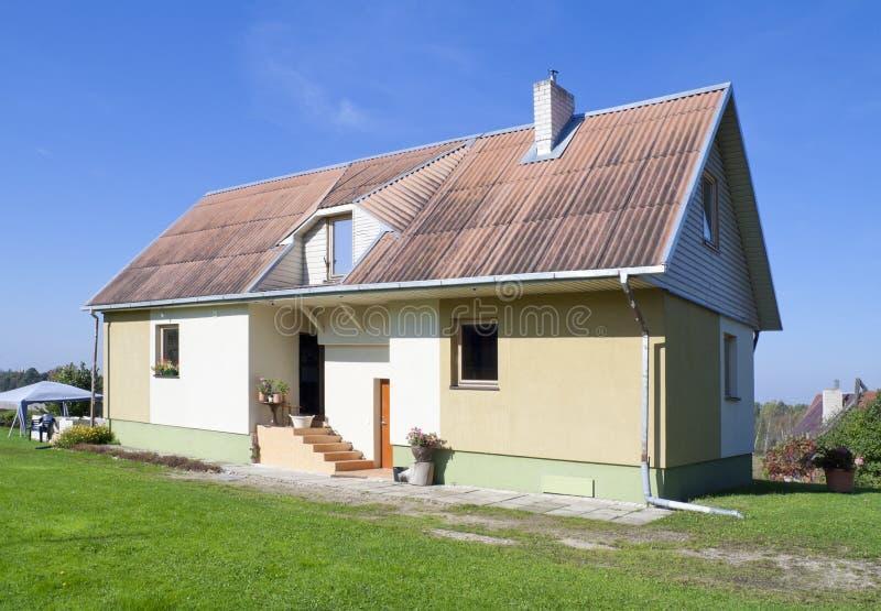 È la mia casa rurale standard fotografia stock
