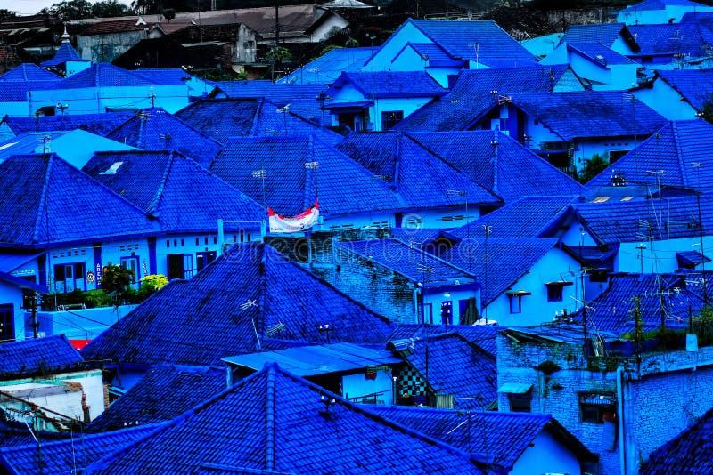 È questo villaggio di Puffo? fotografie stock