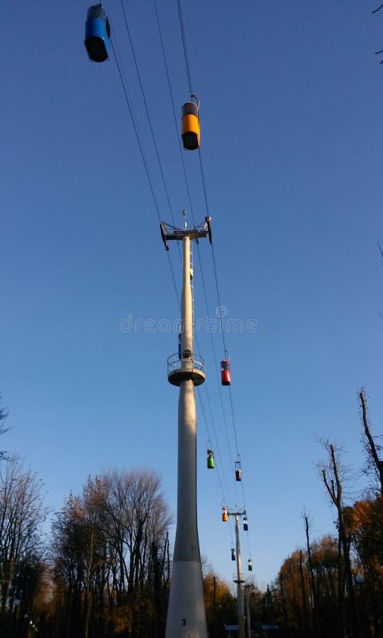 È teleferica di Kharkiv s immagine stock