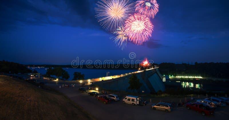 4ème des célébrations de juillet photos libres de droits