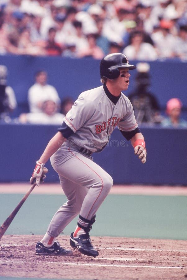 3ème joueur de base Scott Cooper de Boston Red Sox photo stock