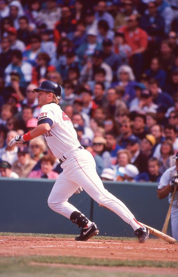 3ème joueur de base Scott Cooper de Boston Red Sox photographie stock