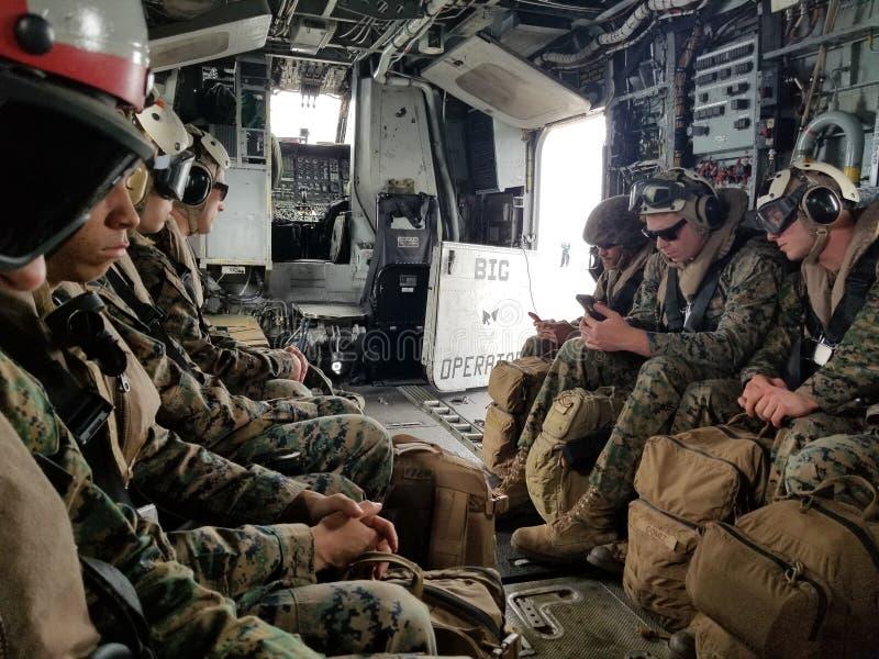 11ème Marine Expeditionary Unit 2017 photo libre de droits