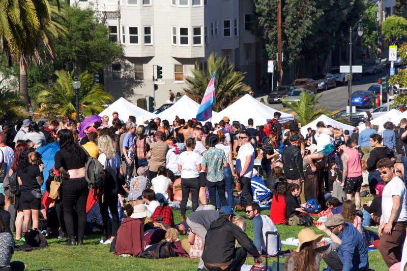 16ème transport annuel mars de San Francisco photographie stock libre de droits