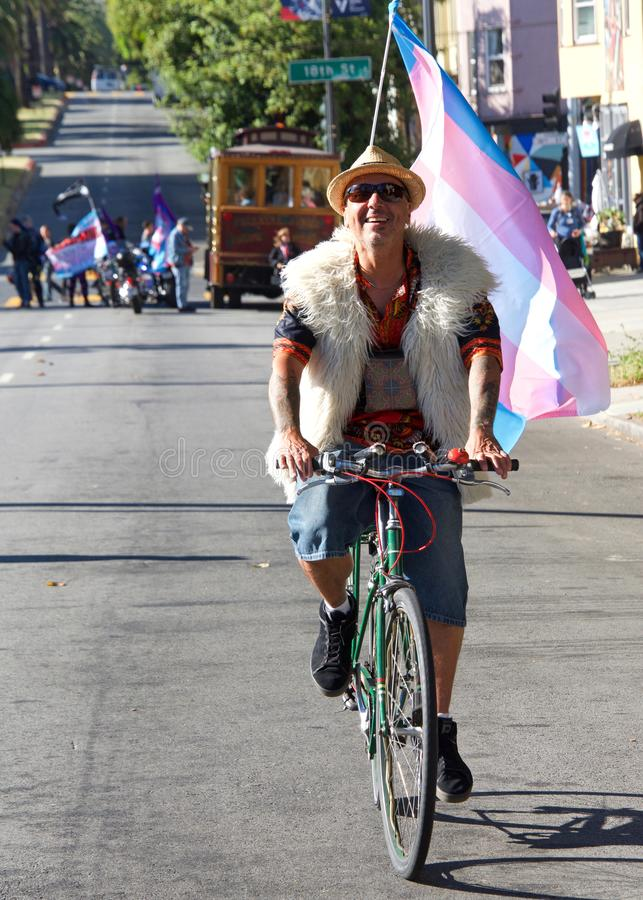 16ème transport annuel mars de San Francisco photos libres de droits