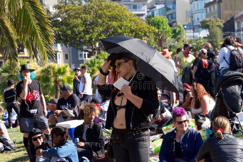 16ème transport annuel mars de San Francisco images libres de droits