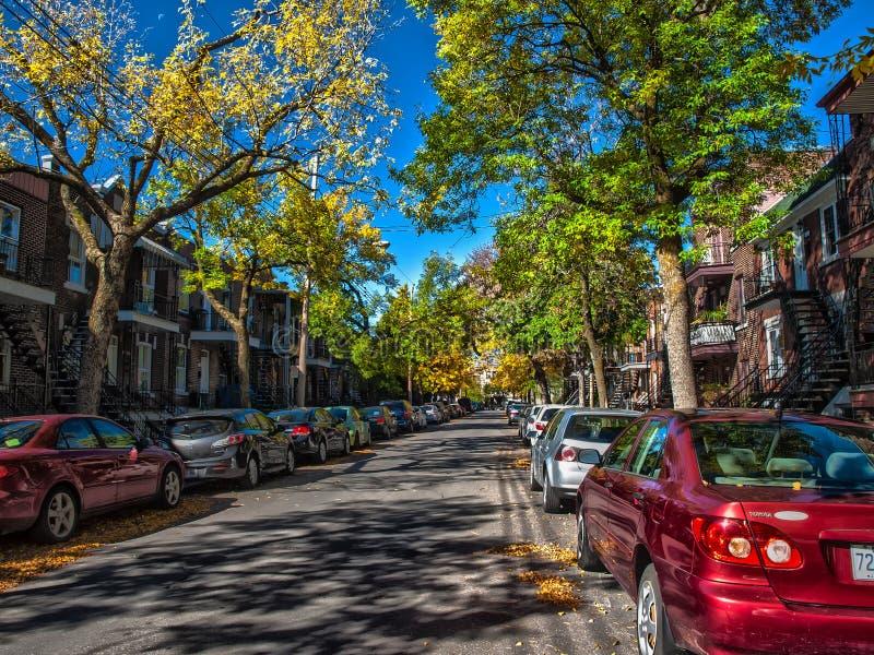 4ème ville Rosemount d'avenue Rosemount photographie stock