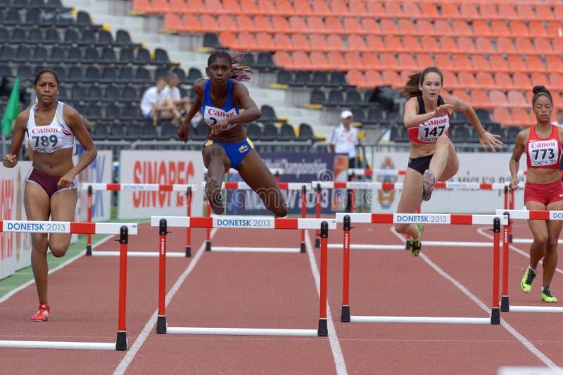 8èmes championnats de la jeunesse du monde d'IAAF photographie stock