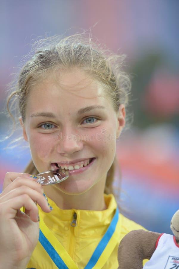 8èmes championnats de la jeunesse du monde d'IAAF photo libre de droits