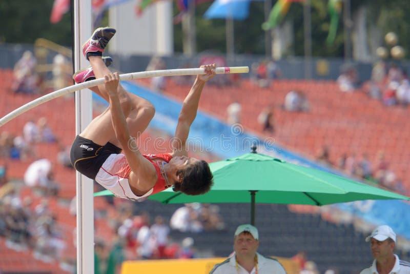 8èmes championnats de la jeunesse du monde d'IAAF image libre de droits