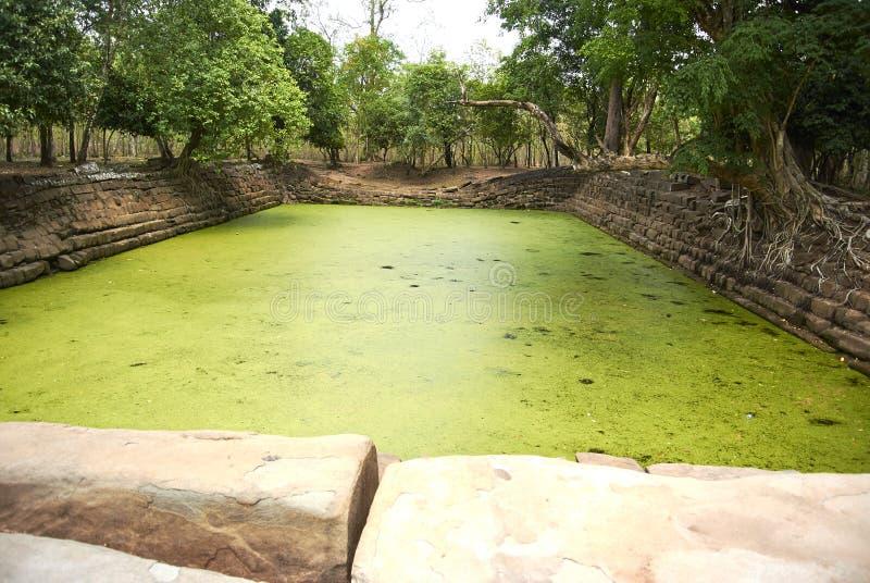 Ère d'Andong Preng Baray Angkor photos stock