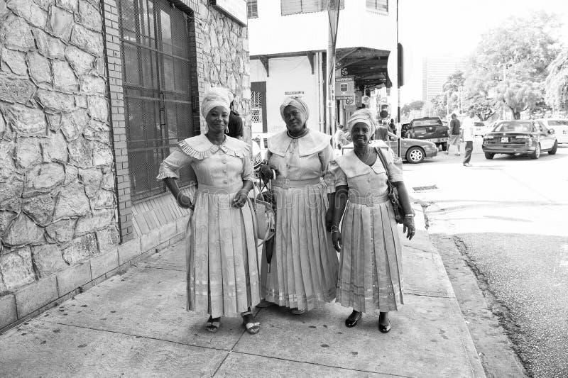 非裔美国人的妇女种族歌手 免版税库存图片