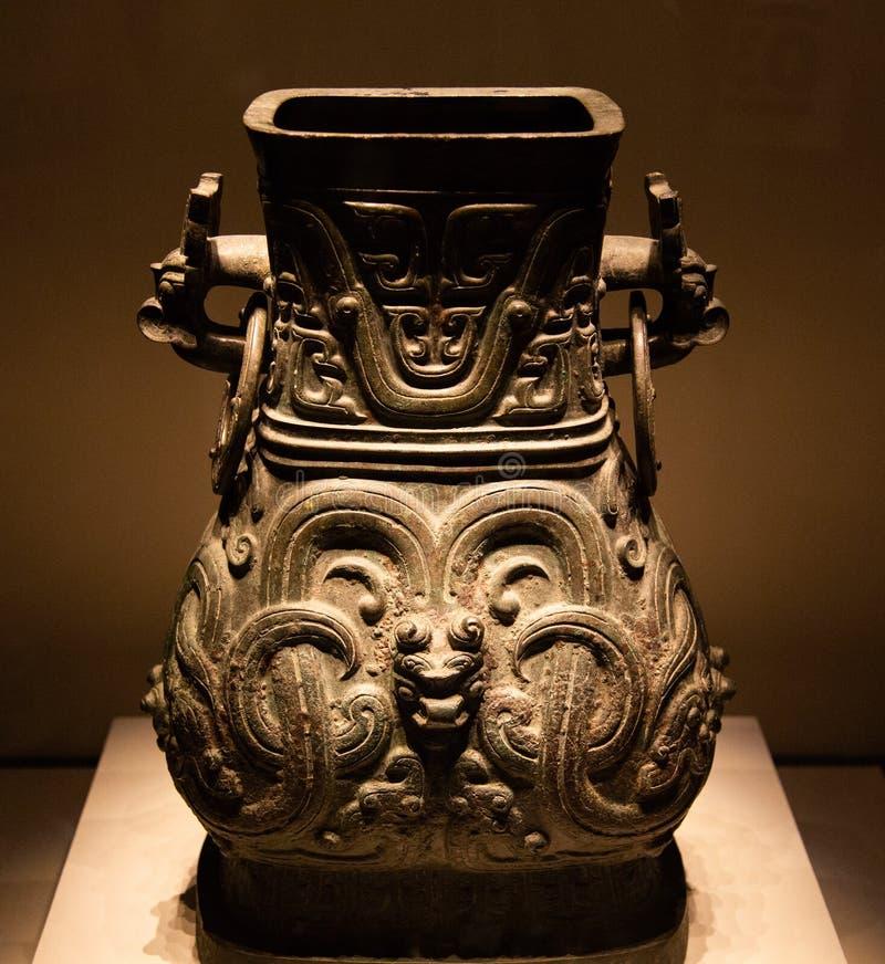 `颂` bronze pot stock images