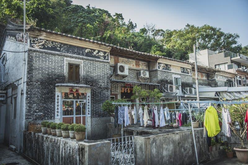 香港,2018年11月-美丽的城市 库存图片