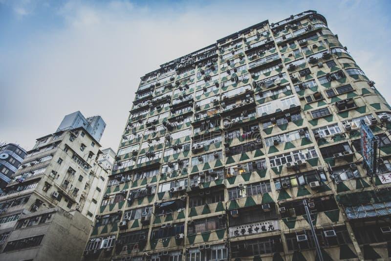 香港,2018年11月-美丽的城市 图库摄影