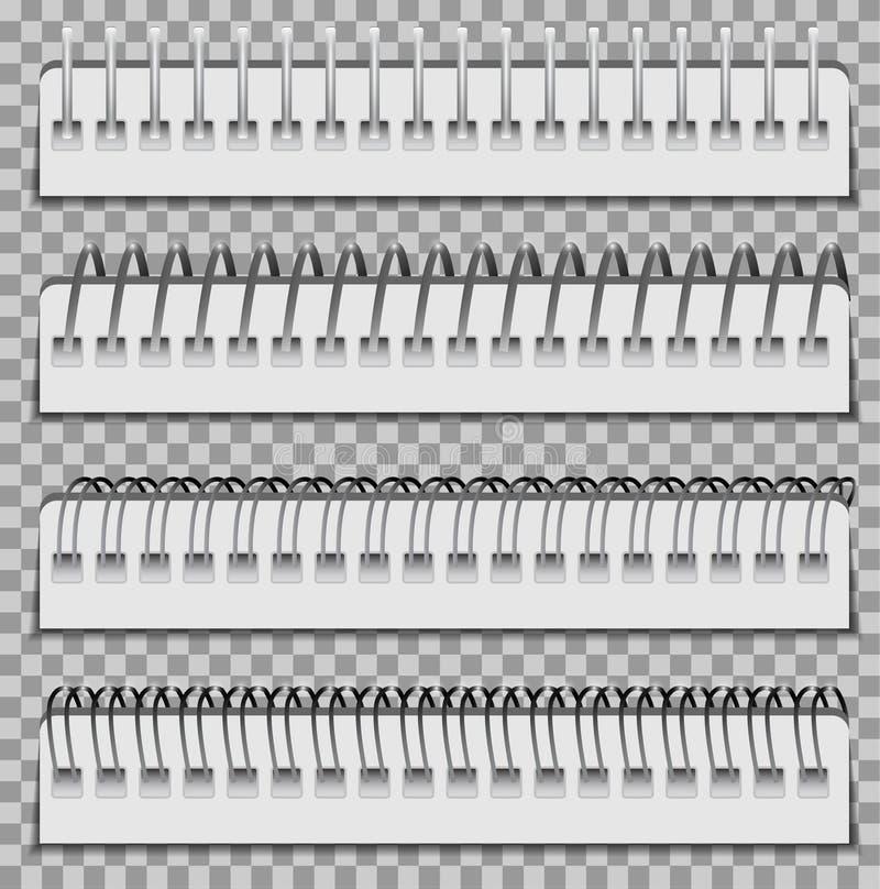 黏合剂集合螺旋 皇族释放例证