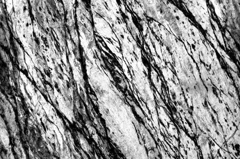 黑色有白色或灰色大理石石背景 深灰或黑大理石,石英纹理背景 墙壁和自然盘区的大理石 免版税库存照片