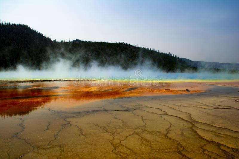 黄石国家公园喷泉2 免版税图库摄影