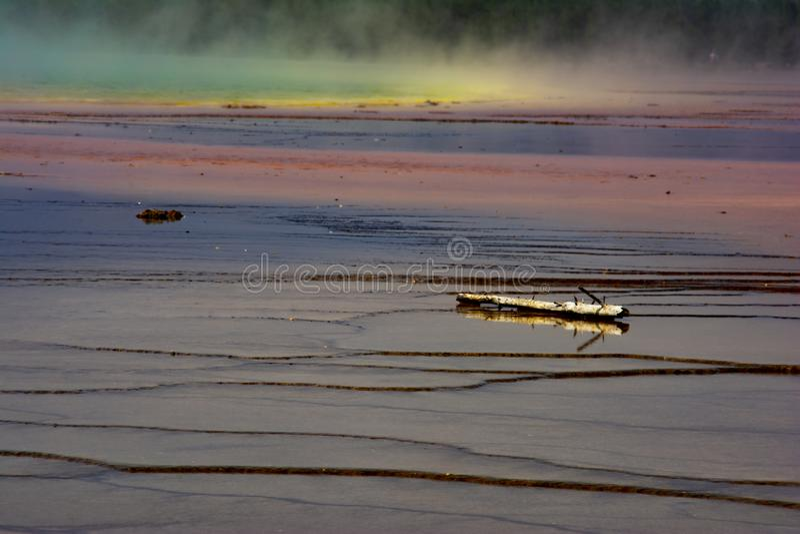 黄石国家公园喷泉3 库存图片
