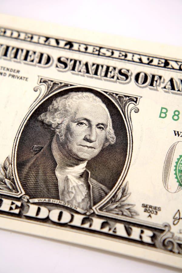 Één dollar van de V.S. stock foto