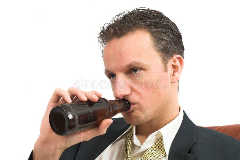 Één drank teveel stock fotografie