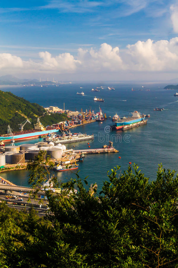 Download Één Haven Van Tsing Yi Hong Kong Stock Afbeelding - Afbeelding bestaande uit globaal, azië: 29503035