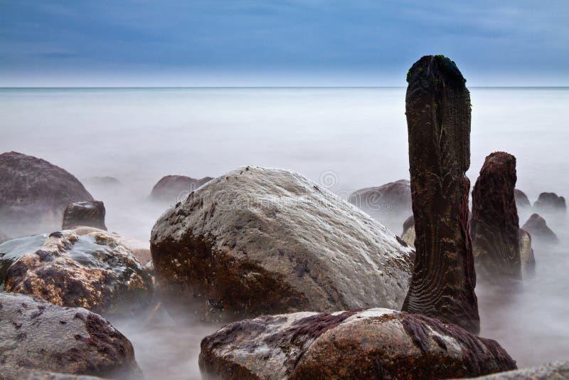 Één kust stock fotografie