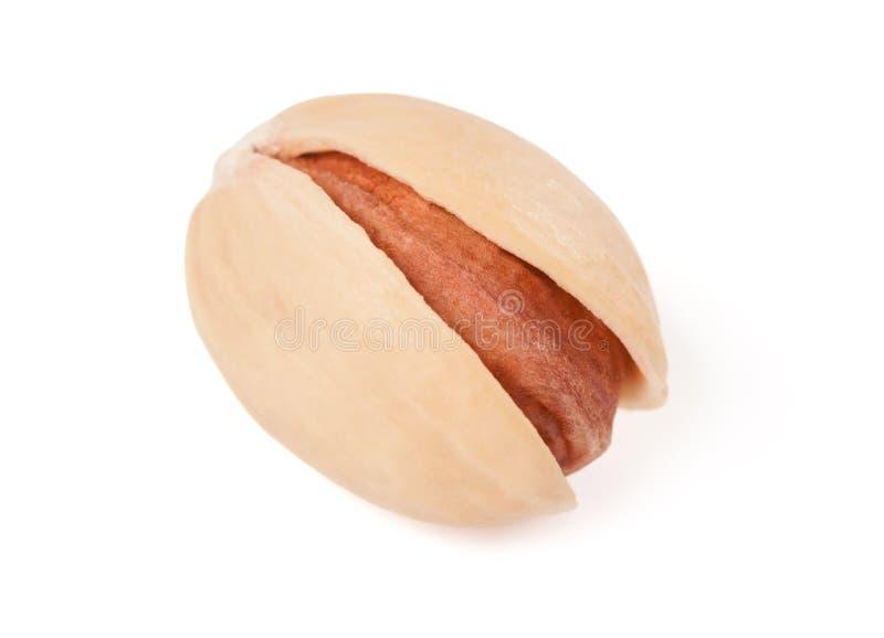 Één natuurlijke pistache stock afbeelding