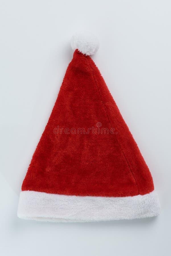 Één pluizige achtergrond van de Kerstman royalty-vrije stock afbeeldingen