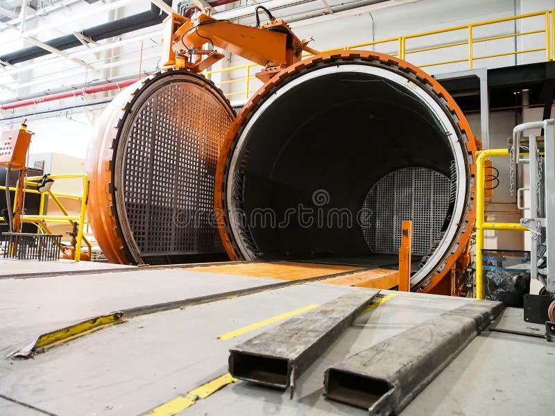 Één van de belangrijkste machine voor de ruimtevaartindustrie royalty-vrije stock foto
