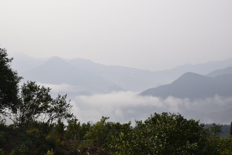 Één van Huangshan royalty-vrije stock afbeeldingen