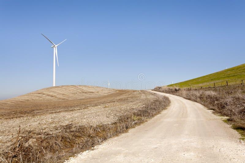 Één windmacht stock foto