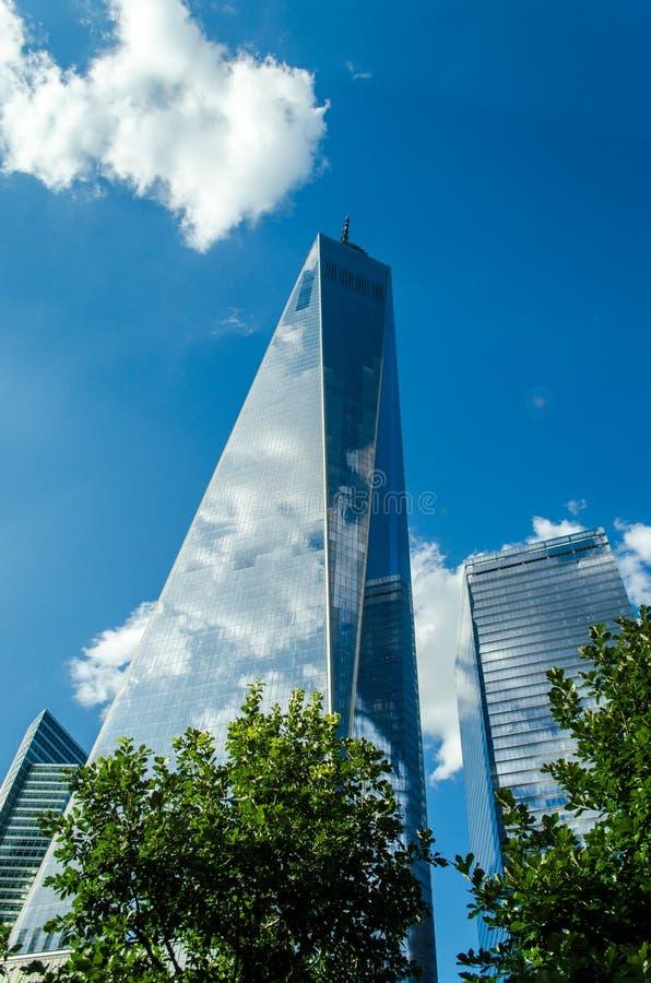 Één World Trade Center - New York royalty-vrije stock foto