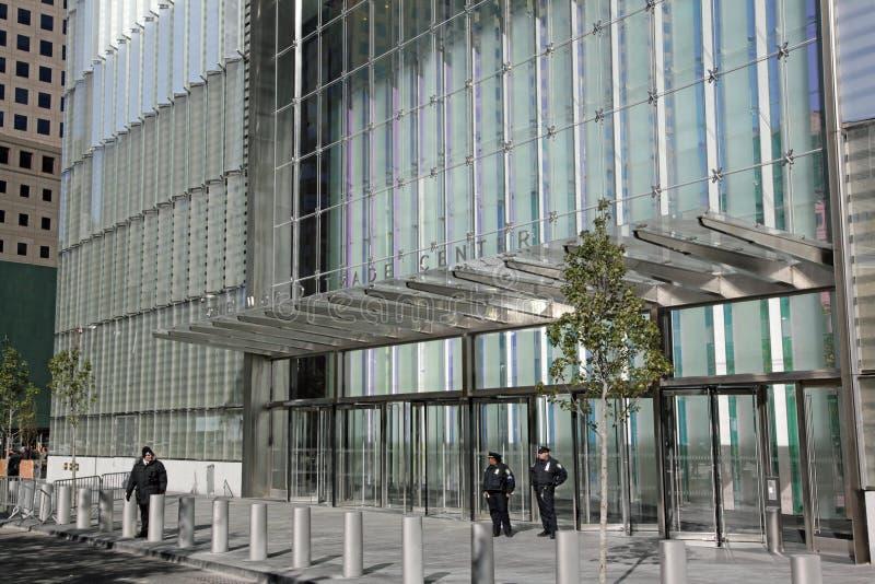 Één World Trade Center, WTC, de Stad van New York stock afbeeldingen