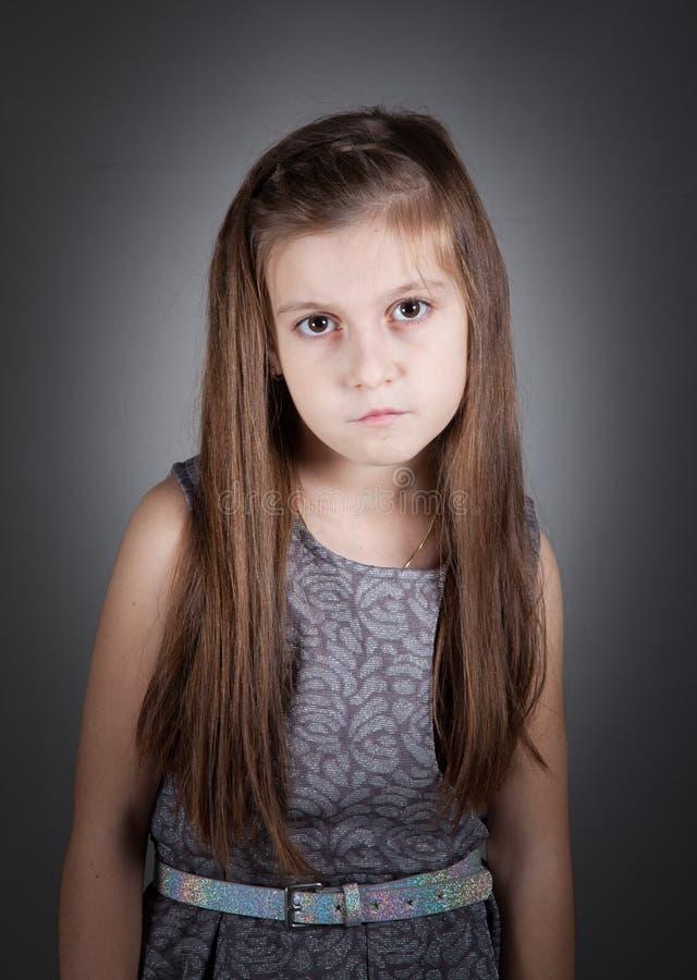 8 éénjarigenmeisje stock fotografie