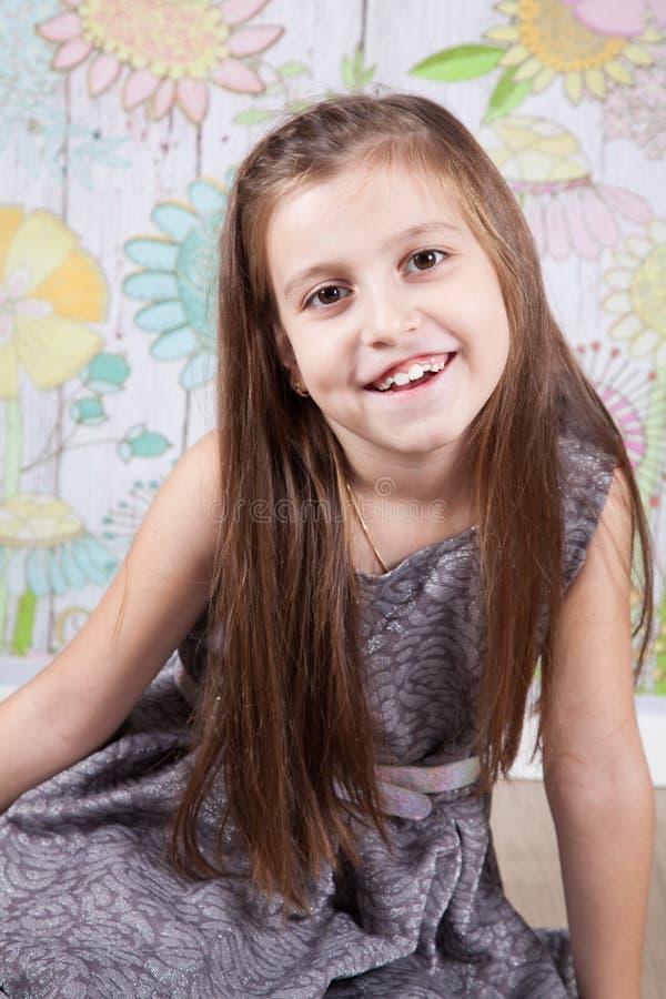 8 éénjarigenmeisje stock afbeelding