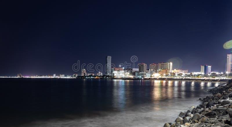 韦拉克鲁斯海岸  免版税库存图片