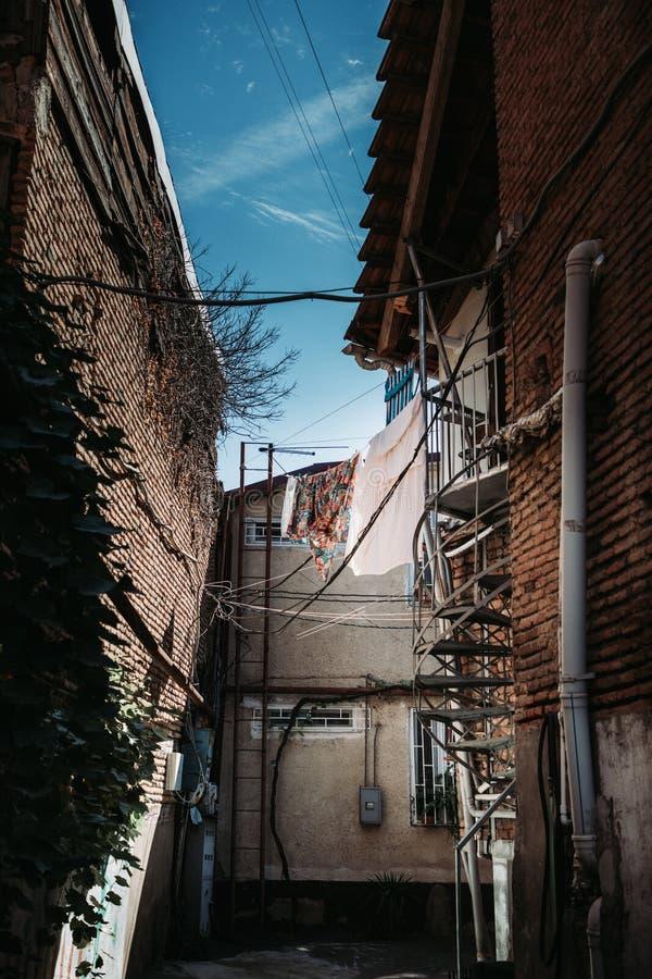 郊区邻里 免版税图库摄影