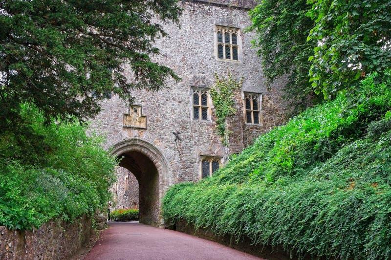 邓斯特城堡警卫室  库存图片