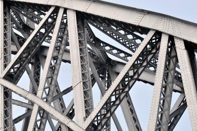 金属建筑的细节 库存图片